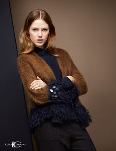 #EstherHeesch for @luisacerano Fall/Winter 2016-17   #model #fashionmodel #lookbook #adcampaign #photography #fashionphotography #fall #winter #2016 #classy #elegant #beauty #makeup #hair #hairstyle #style #look #naturallook #bellissima