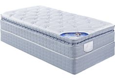 Shop for a Serta Farnsworth Twin Mattress at Rooms To Go Kids. Find  that will look great in your home and complement the rest of your furniture.