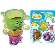 Bath Stacking Cups from New Dimension Oz are great fun toys for developing motor skills and imagination Toys Australia, Bath Time, Motor Skills, Educational Toys, Imagination, Cups, Entertaining, Mugs, Educational Games