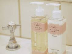 Scents at your sink. Tocca's liquid hand soap has a gentle lather with a luxurious formula that leaves your skin delicately scented. #Sephora