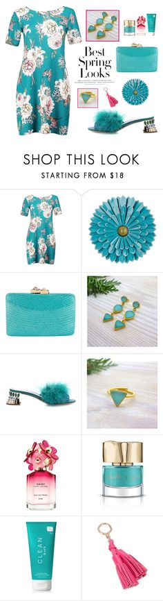 """Spring Outfit - Evangelos Jewellery"" by evanangel ❤ liked on Polyvore featuring Boohoo, Kayu, Miu Miu, H&M, Marc Jacobs, Smith & Cult and Kate Spade"