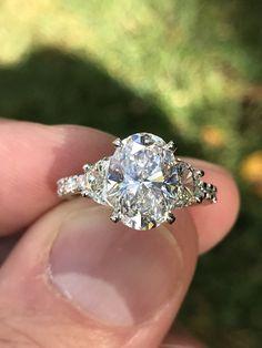 My beautiful engagement ring.