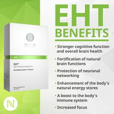 Nerium's EHT has many benefits. Here are the top 6!