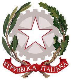 English: emblem of the Italian Republic Italia. Aragon, President Of Italy, Italian Symbols, List Of Presidents, National Animal, National Symbols, Italian Renaissance, Coat Of Arms, Bumper Stickers