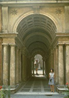 Borromini, agalleria di Palazzo Spda, Roma