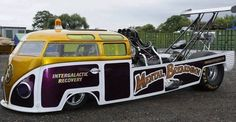Bus dragster