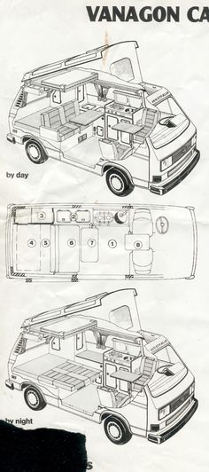 Vanagon Interior Views