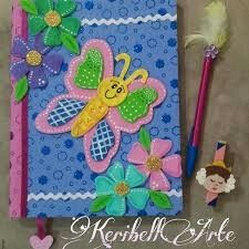 Notebook Art, Felt Books, School Decorations, Pocket Cards, Journal Covers, Paper Flowers, Diy And Crafts, Wraps, Butterfly