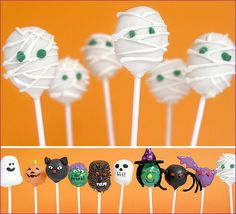 Halloween Cake Pops by Bakerella