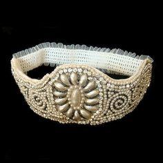 Art Deco antique headband