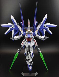 MG 1/100 Build Strike Gundam [Interplanetary Fata Morgana] - Customized Build