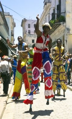 Dancing in the street- Havana, Cuba