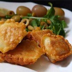 Fried Swai Fillets in Batter Recipe Main Dishes with fillets, flour, milk, salt, seasoning, olive oil