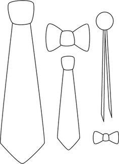 Moldes de corbatas - Imagui