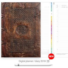 Antique cover Digital Planner - Goodplanr Planners, Card Holder, Digital, Antiques, Cover, Rolodex, Antiquities, Antique, Slipcovers