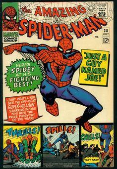 Amazing Spider-Man # 38 , July 1966 , Marvel Comics Vol 1 1963 tumblr_niytz3Q9hP1rn55nzo1_540.jpg (540×783)