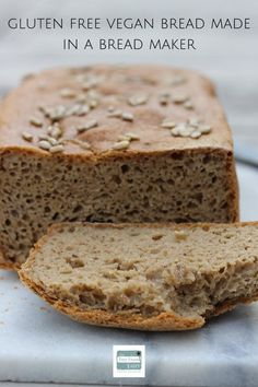 Gluten Free Vegan Bread For A Bread Maker | The Free From Fairy