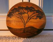 """Painted rock """"Africa"""""""