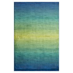 Loomed rug with an ombre motif. Made in Egypt.   Product: RugConstruction Material: PolypropyleneCo...