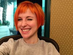 *m. A Hayley Williams (paramore) selfie!!!!:)