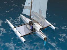 Trimaran Boat Design | PDF Diy Trimaran boat cradle plans