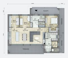 House Floor Plans, Own Home, Sweet Home, Flooring, How To Plan, Interior, Sims, Houses, Home Decor