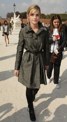 emma watson...luv her and her coat!!