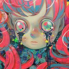 Art is a Feeling - backwrdblackbrd: Hikari Shimoda