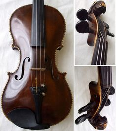♪♫► FINE OLD STAINER VIOLIN w/ LION HEAD ♫ VIDEO ♪ VINTAGE ANTIQUE ♪♫ Violino ♪   eBay