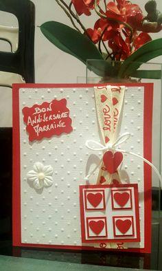 Carte anniversaire love