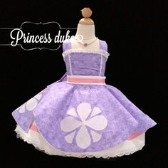 Sofia the first  size 3-4T ready to ship
