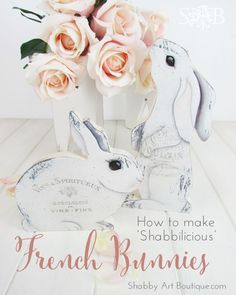 How to make shabbilicious French Bunnies