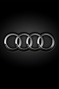 Audi Logo - iPhone 5, 4s, 4, 3Gs, 3G, 640x960, 640x1136 HD Wallpapers