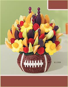 Caleb would love this for his birthday. DIY it with fruit and cookie cutters at home.