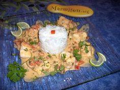 Cabillaud+coco+à+la+samana+(République+Dominicaine)+-+Recette+de+cuisine+Marmiton+:+une+recette