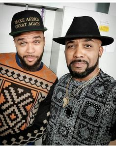 ACKCITY NEWS: Picture: Banky W and Jidenna