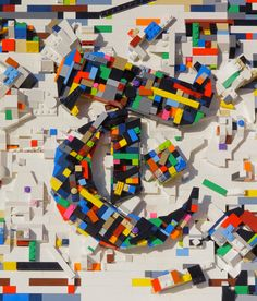In this photograph and stop-motion video, the French-born artist Damien Florébert Cuypers translates his longtime fascination with Legos into a quirky version of our trademark logo New York Times Magazine, T Magazine, Stop Motion, Motion Video, Ny Times, Legos, Art Direction, Art Lessons, Color Patterns