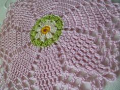 CROCHET: Octagon version of the Double Daisy
