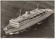 Schweden - Schweden - MS Trelleborg - Train Ferry - 1958
