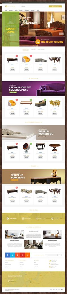 Venus Express Store is a Responsive / Multiple Purpose #Magento Template suitable for any kind of Express Decor Shop, Furniture Store, Wall Store, Candles #Store, Hightech Store, Gift #Shop, Electronics shop and all kinds of #marketplace business that needs a feature rich and beautiful presence online. #eCommerce