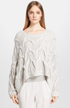 Donna Karan Collection Hand Knit Cashmere Sweater available at #Nordstrom