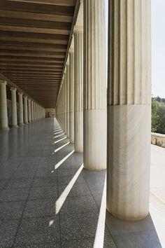 Ancient Agora columns Athens http://500px.com/photo/182173133