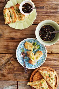 Golubka Kitchen: BAKED VEGGIE SPRING ROLLS