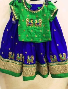 Baby Lehenga, Kids Lehenga Choli, Lehenga Blouse, Sarees, Frocks For Girls, Dresses Kids Girl, Kids Outfits, Baby Dresses, Kids Dress Wear