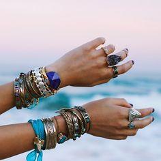 #nails #accessories #rings #bracelet #fashion #classy #girls #summer #beach
