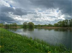 Teichlandschaft zu Himmelfahrt 1