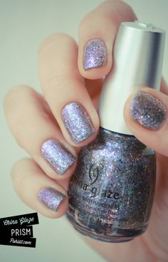 """China Glaze """"Prism""""   Fun for parties and New Years!"""