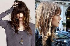 Shag haircuts are very popular right now. Whether you're opting for a shaggy bob or shaggy long hair, you'll enjoy these photos of the best ones.: The Best Shag Bangs on Pinterest