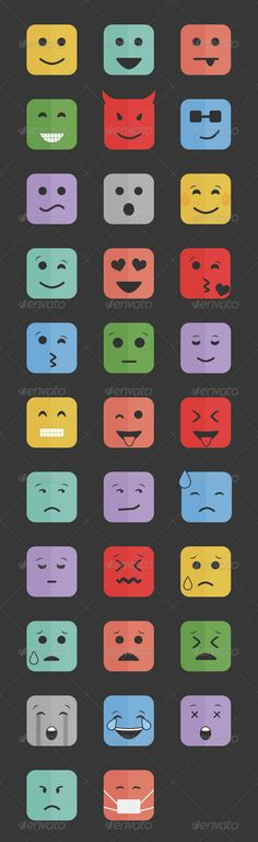 32 Smiley Emotions | Buy and Download: http://graphicriver.net/item/32-smiley-emotions/8545554?WT.ac=category_thumb&WT.z_author=Harshil_a&ref=ksioks