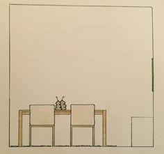 View drawing for styling Gamma, Panningen | 2010 | www.maudbymaud.nl